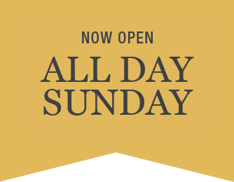 Now open all day Sunday